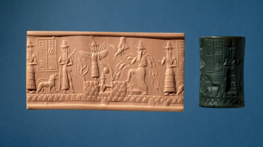 Teaching History with 100 Objects - Mesopotamian cylinder seal